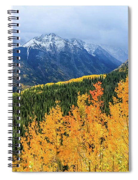Colorado Aspens And Mountains 4 Spiral Notebook