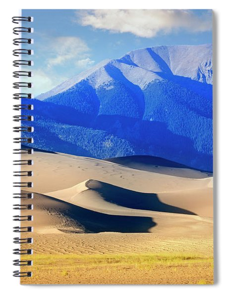 Colorado Dunes Spiral Notebook by Scott Kemper