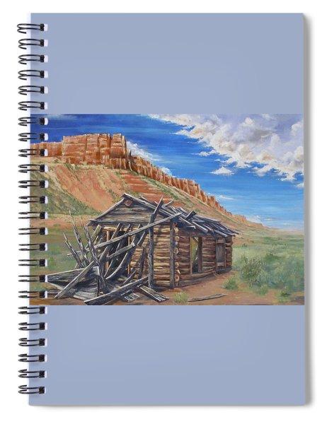 Colorado Prarie Cabin Spiral Notebook