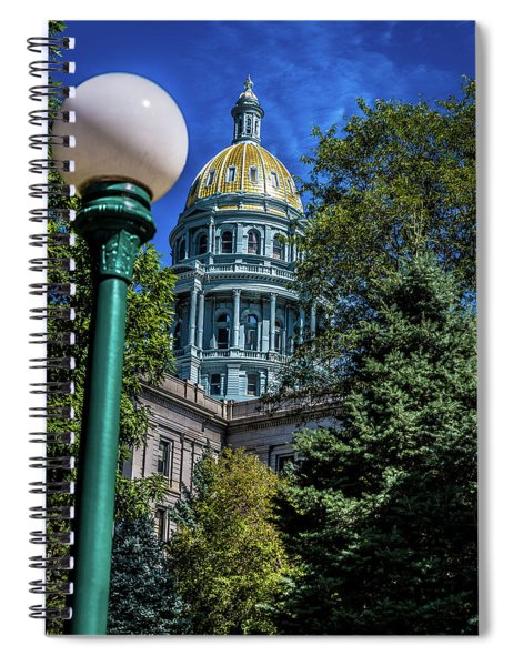 Colorado State Capital Spiral Notebook
