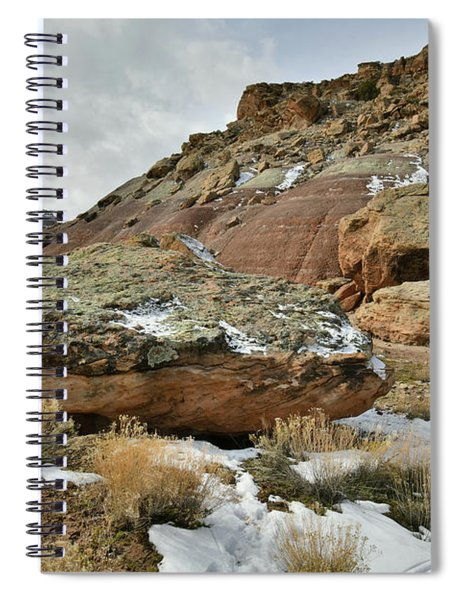 Colorful Dunes Near Colorado National Monument Spiral Notebook