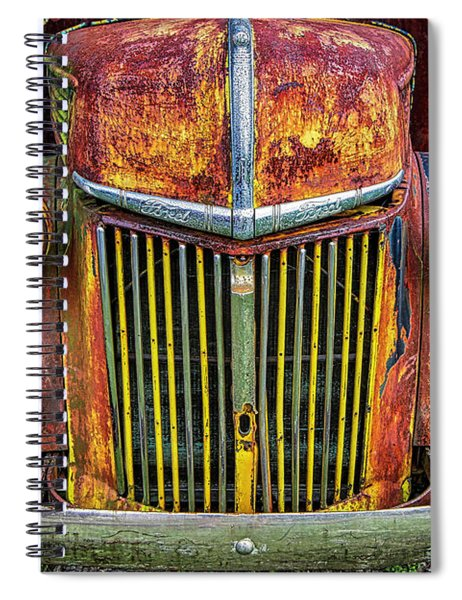 Colorful Ford Spiral Notebook