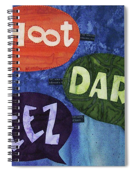 Colorful Language Spiral Notebook
