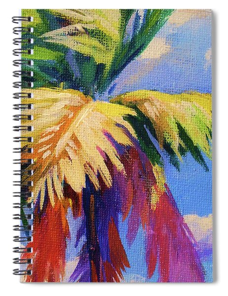 Colorful Palm Spiral Notebook