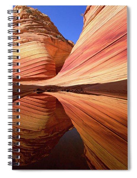 Colorful Sandstone Colorado Spiral Notebook by Yva Momatiuk John Eastcott