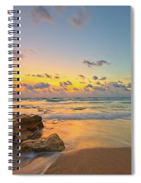 Colorful Seascape Spiral Notebook