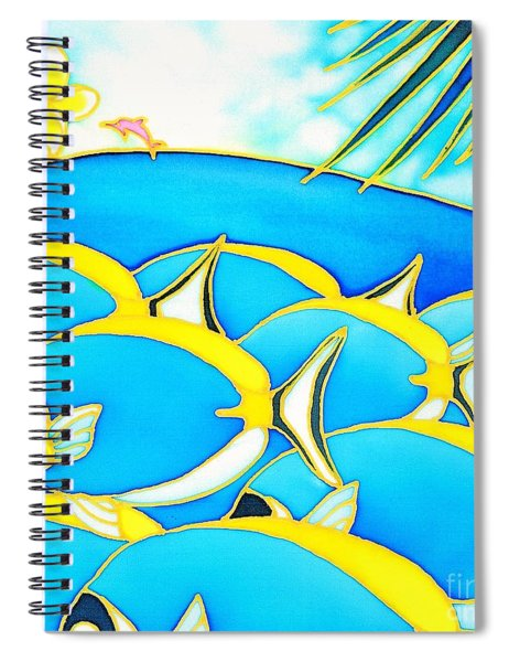 Colorful Tropics 13 Spiral Notebook