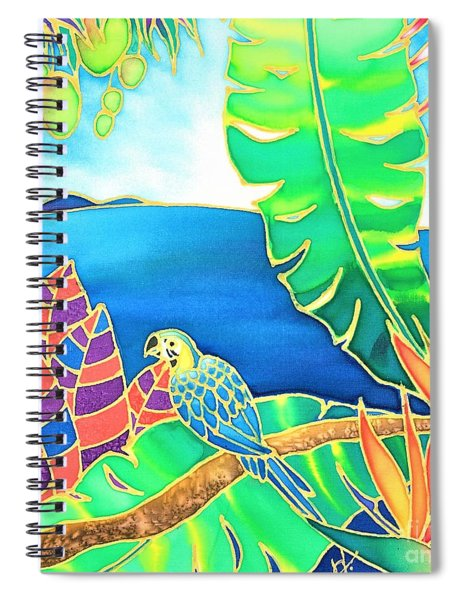 Colorful Tropics 16 Spiral Notebook