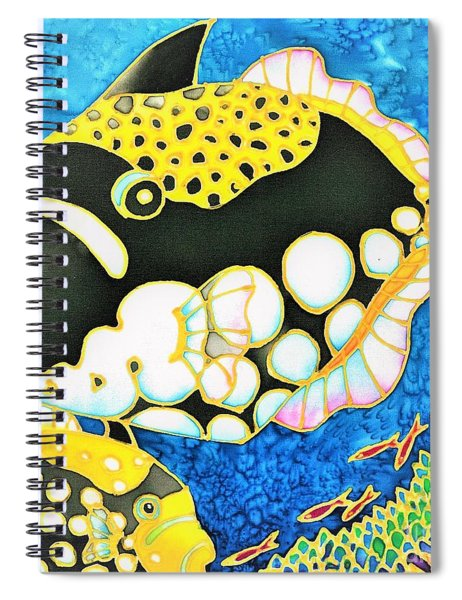 Colorful Tropics 18 Spiral Notebook