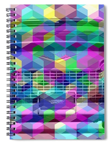 Colorist Great Car Spiral Notebook