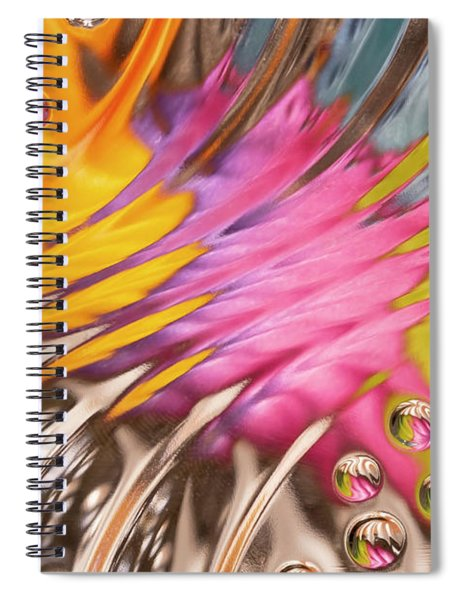 Colors In Vitro 2 Spiral Notebook
