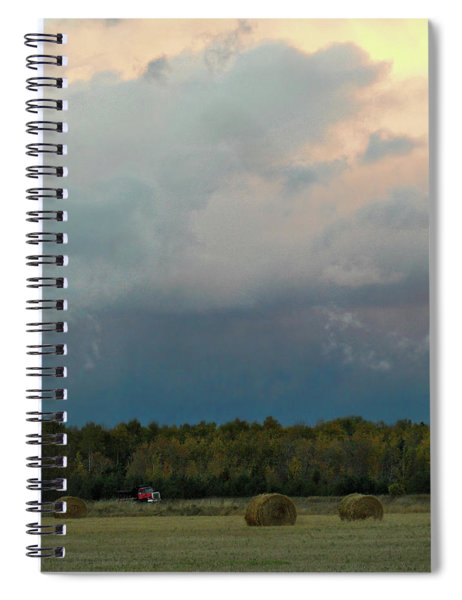 Colossak Country Clouds Spiral Notebook