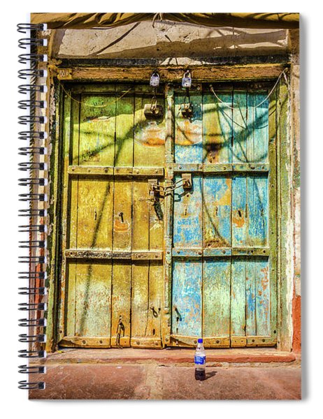 Colourful Doors Agra Spiral Notebook