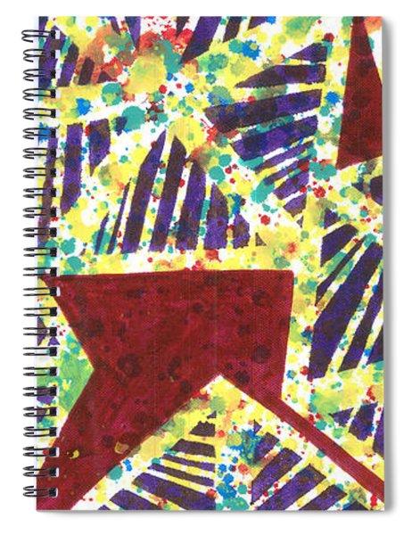 Colourful Webs  Spiral Notebook