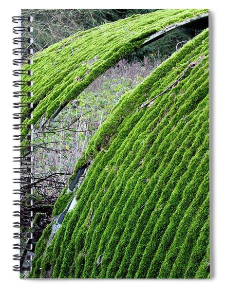 Colours. Green Spiral Notebook