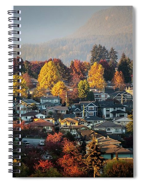 Colours Of Autumn Spiral Notebook