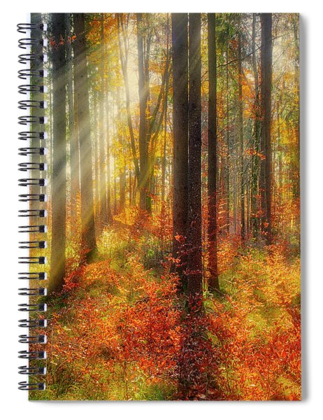 Colours Of Nature 02 Spiral Notebook