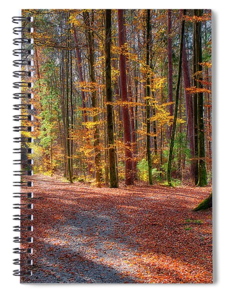 Colours Of Nature Spiral Notebook