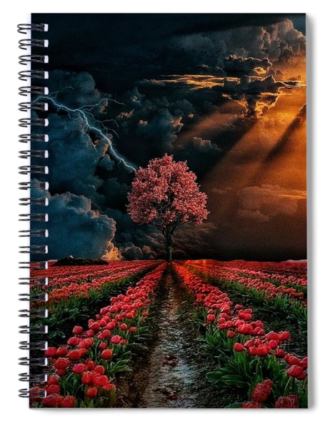 Colours Of The Sky Spiral Notebook