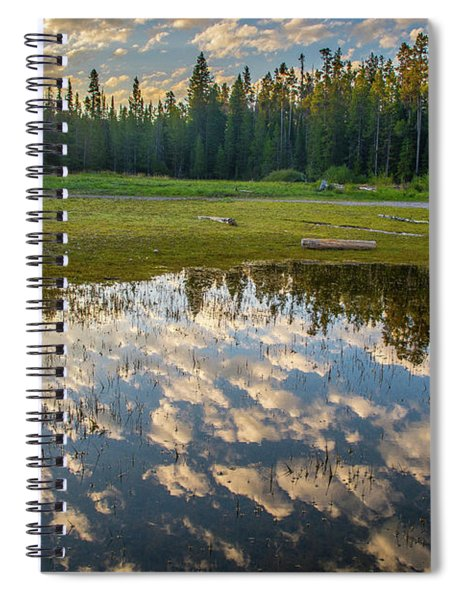Colter Bay Reflections Spiral Notebook