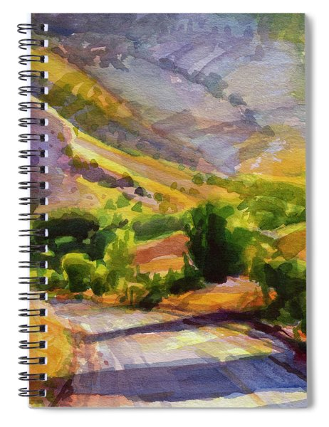 Columbia County Backroads Spiral Notebook by Steve Henderson