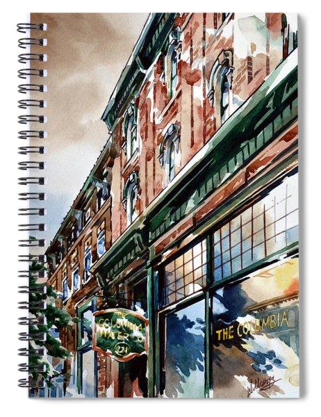 Columbia Water Spiral Notebook