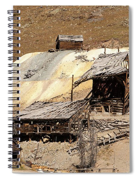 Columbus Mine Spiral Notebook