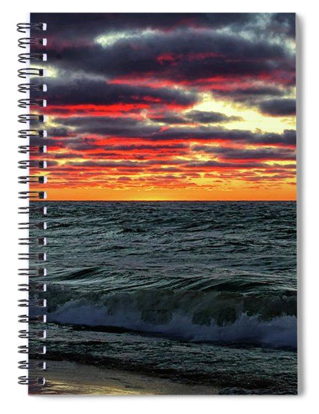 Come Ashore My Love Spiral Notebook