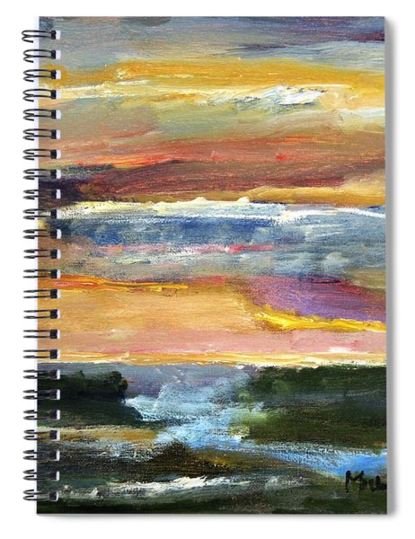Comes The Dawn Spiral Notebook