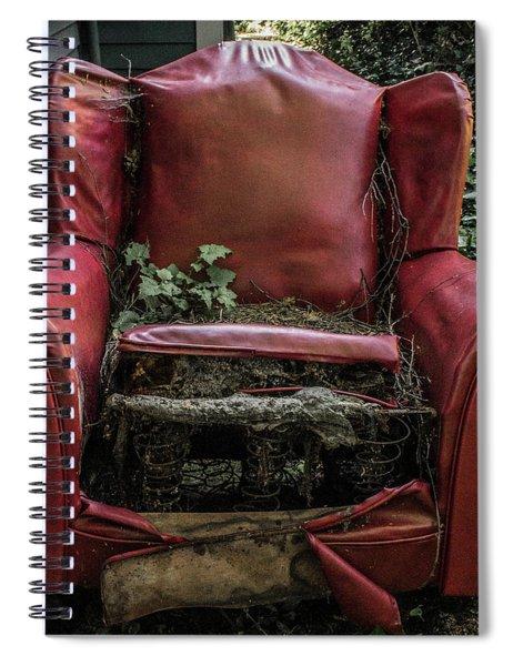 Comfy Chair Spiral Notebook