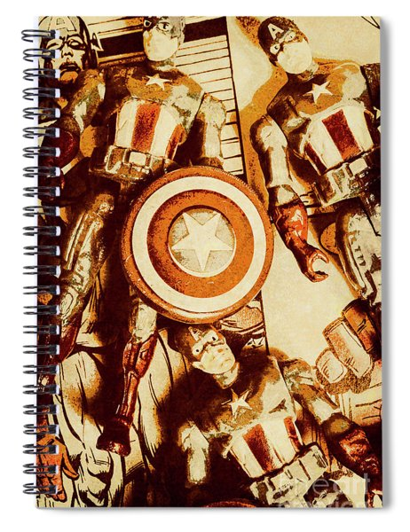 Comic Collector Inc. Spiral Notebook