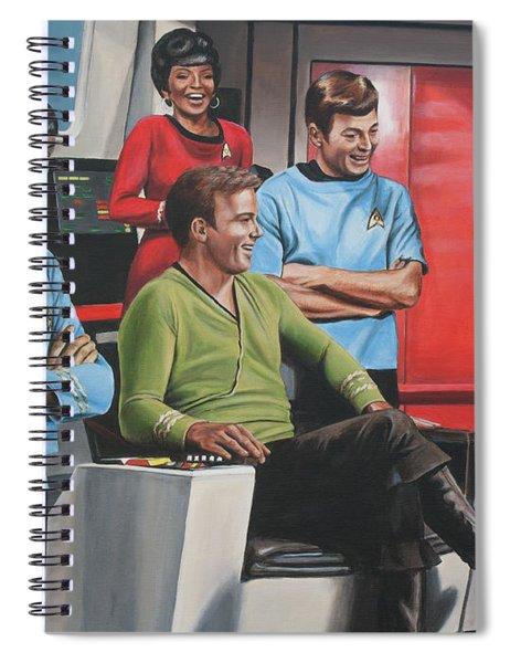 Comic Relief Spiral Notebook