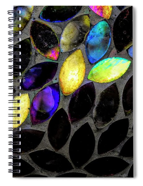 Coming Into Color Spiral Notebook