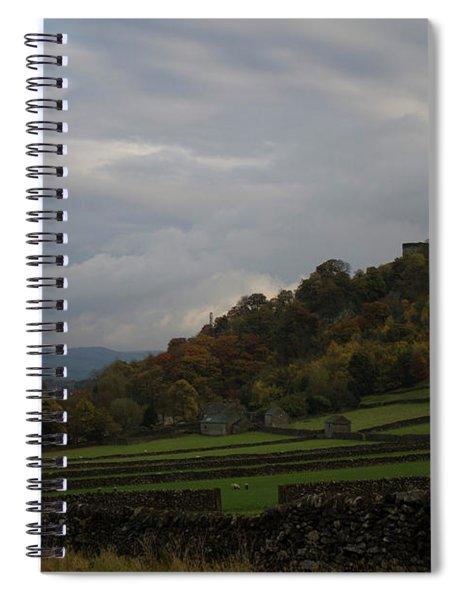 Derbyshire Stone Walls Spiral Notebook