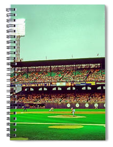 Comiskey Park Third And Home  Spiral Notebook