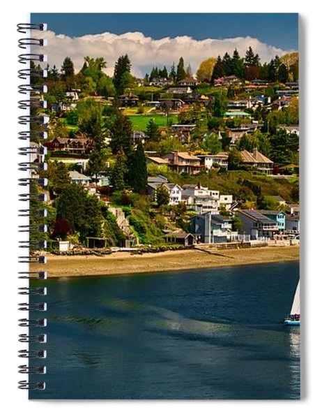 Commencement Bay,washington State Spiral Notebook
