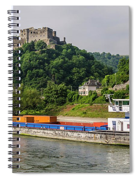 Commerce Along The Rhine Spiral Notebook