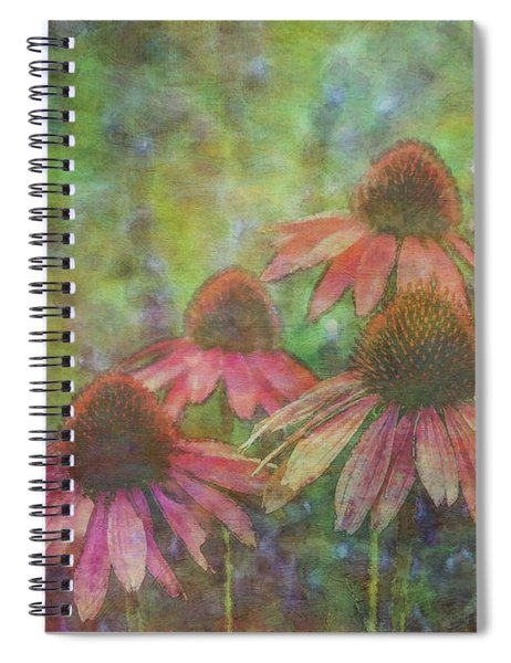 Coneflowers Among The Lavender 1667 Idp_2 Spiral Notebook