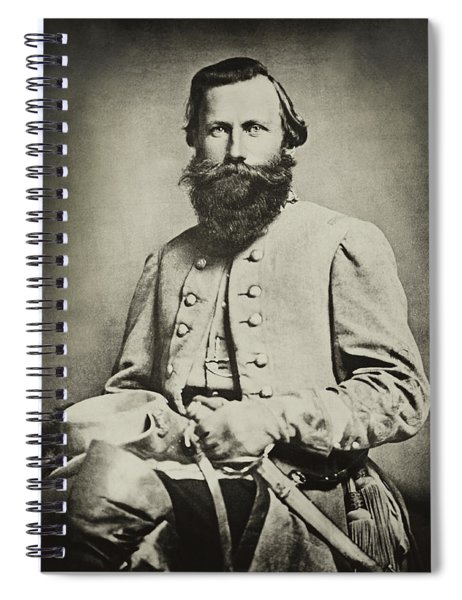 Confederate Jeb Stuart Spiral Notebook
