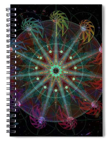 Conjunction Spiral Notebook