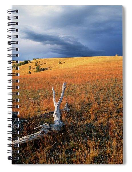 Continental Divide Spiral Notebook
