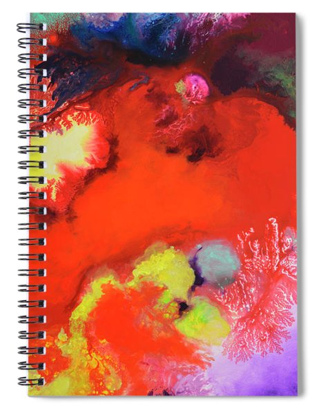 Continuity, Canvas Four Spiral Notebook