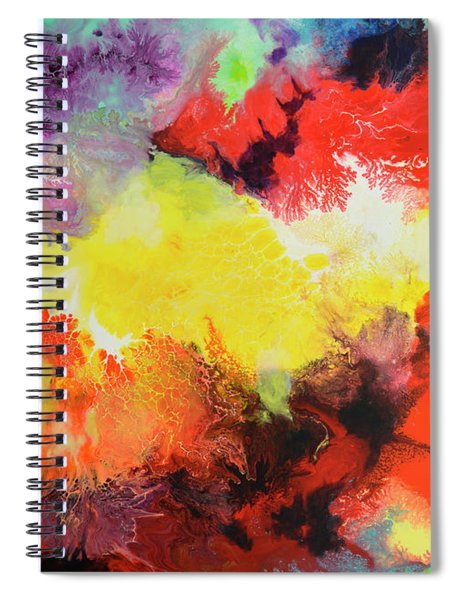 Continuity, Canvas Three Spiral Notebook