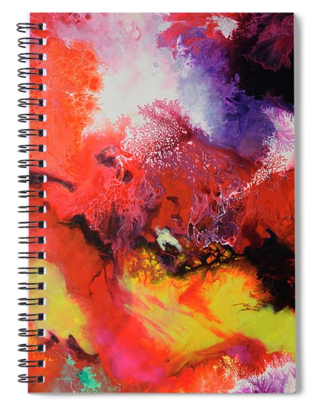 Continuity, Canvas One Spiral Notebook