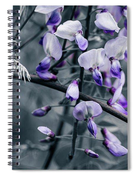 Cool Blue Of Spring Spiral Notebook