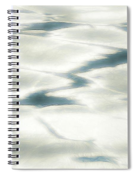 Cool Tranquility Spiral Notebook