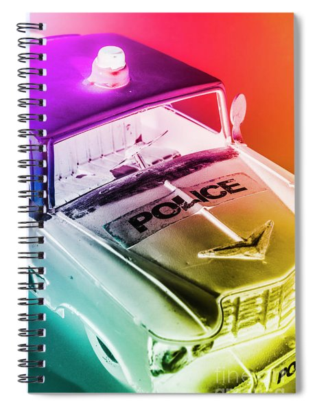 Cop Pops Spiral Notebook