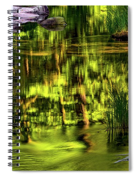 Coquille Forest Reflections Spiral Notebook