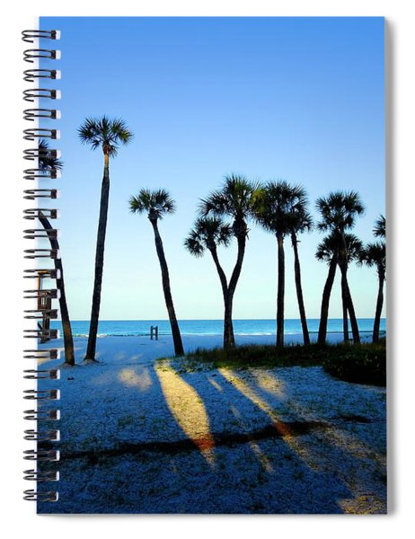 Coquina Palms Spiral Notebook