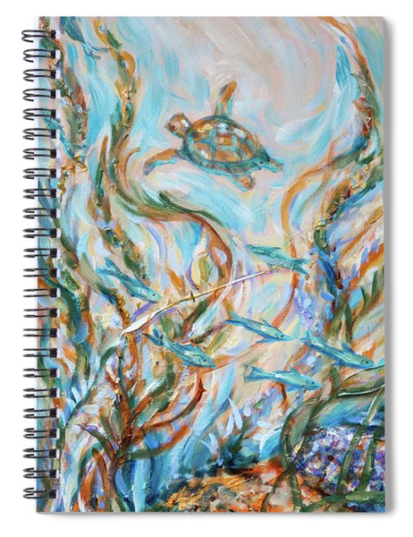 Coral Bliss Spiral Notebook